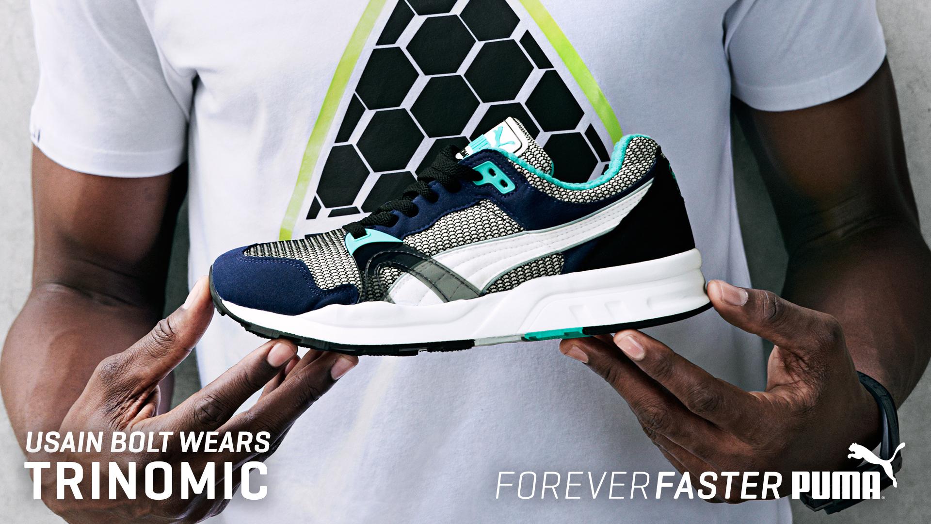 Usain Bolt - Puma Trinomic