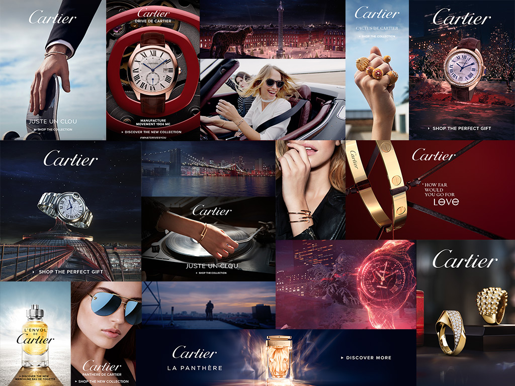 Cartier - Digital Ads