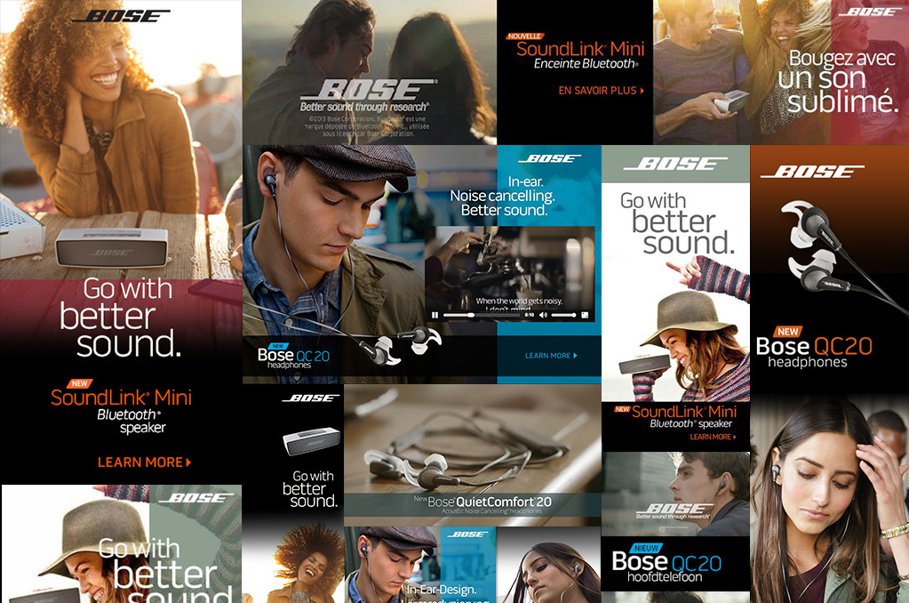 BOSE Digital Ads