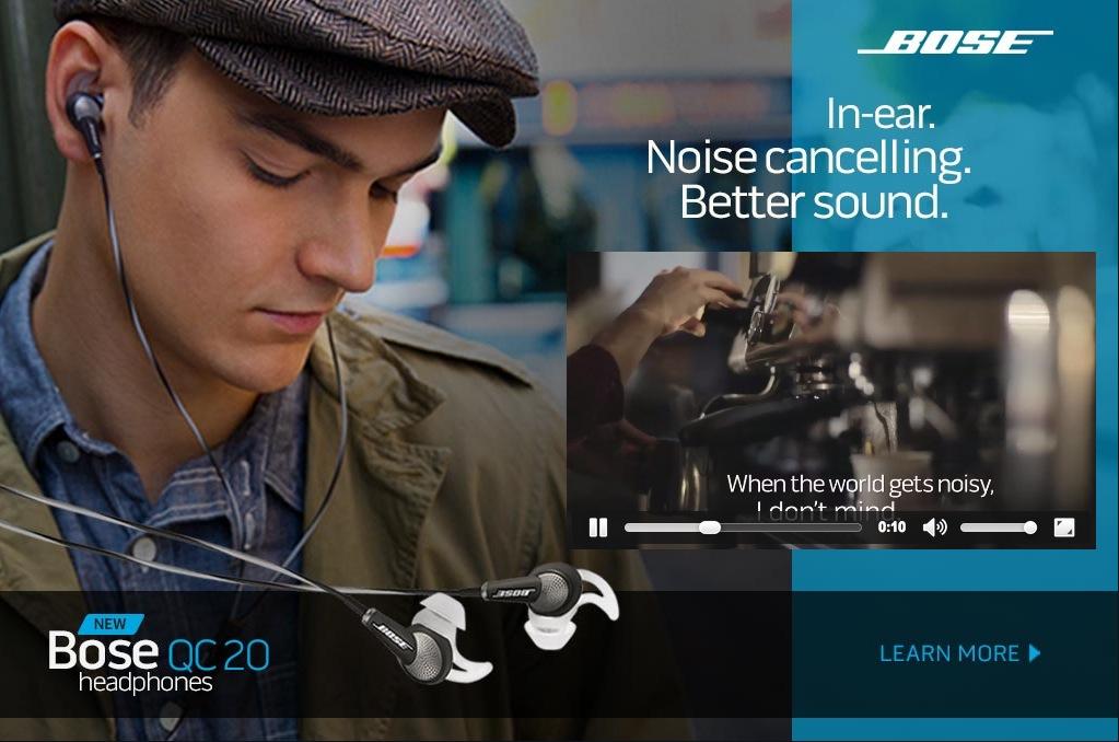 Bose Digital Ad